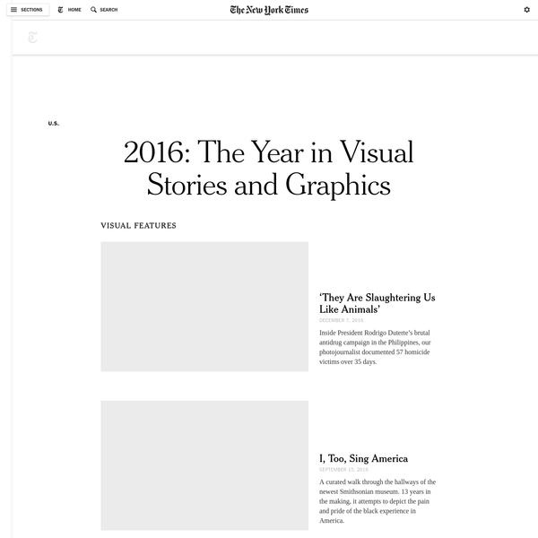 Selected Times graphics, visualizations and multimedia stories from 2016.