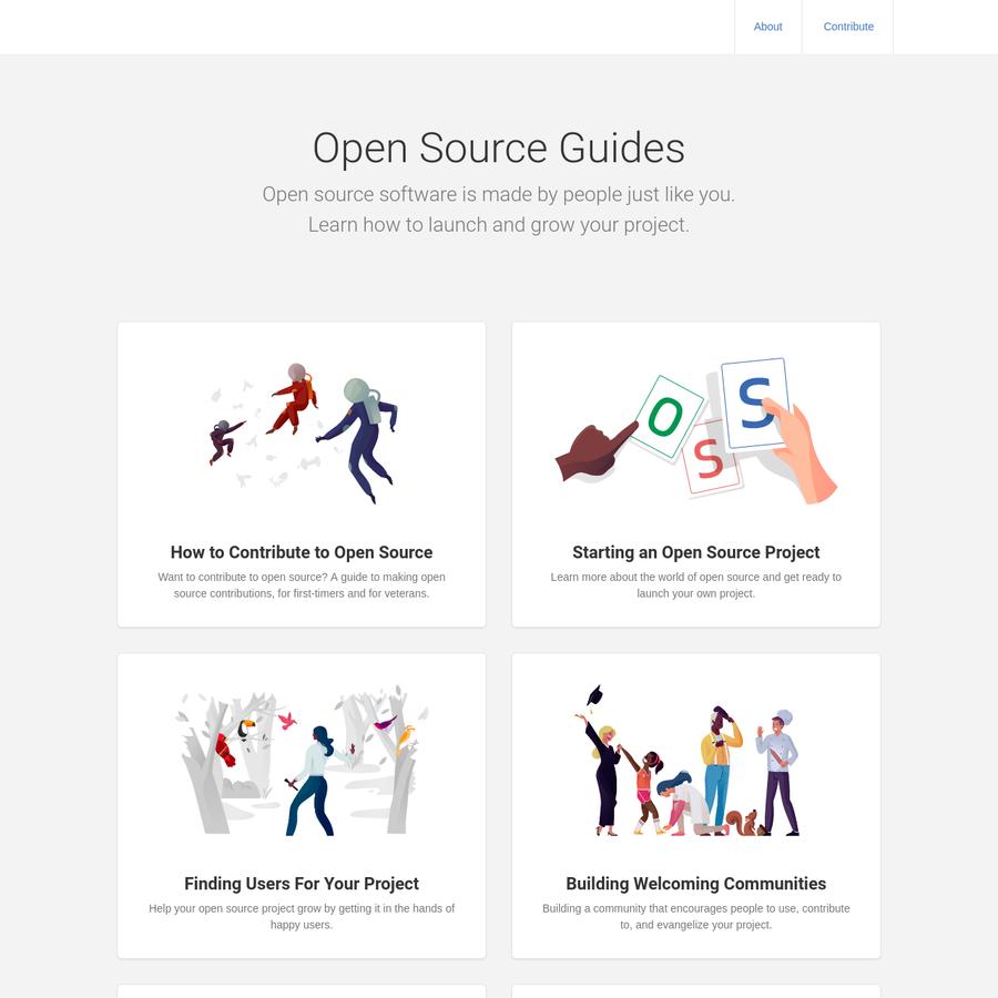 A community guide for open source creators.