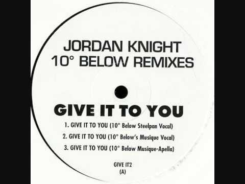 Jordan Knight - Give It To You (10 Degrees Below Steelpan Vocal)