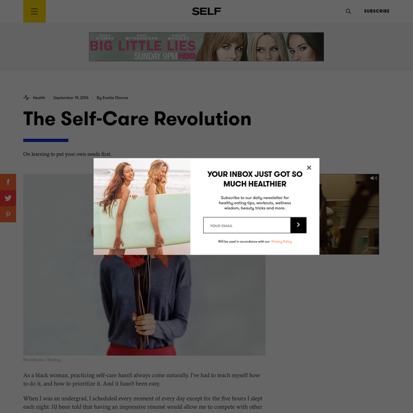 The Self-Care Revolution