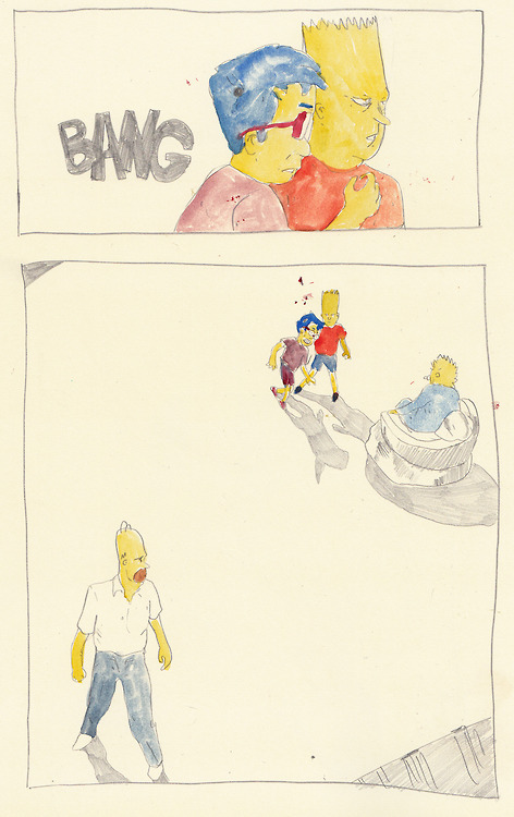 graphicalanomaly: withapencilinhand: The awakening of Bartkira This is magical