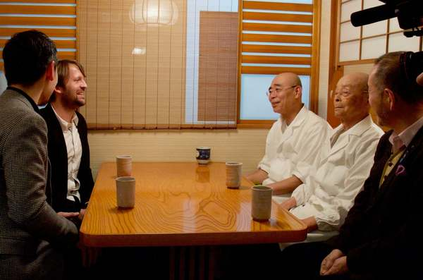Jiro Ono and René Redzepi Have a Cup of Tea