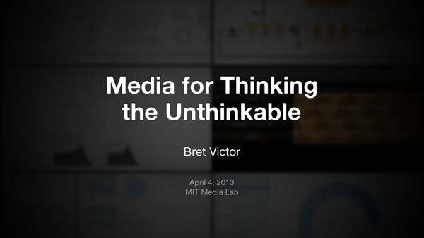 Media for Thinking the Unthinkable