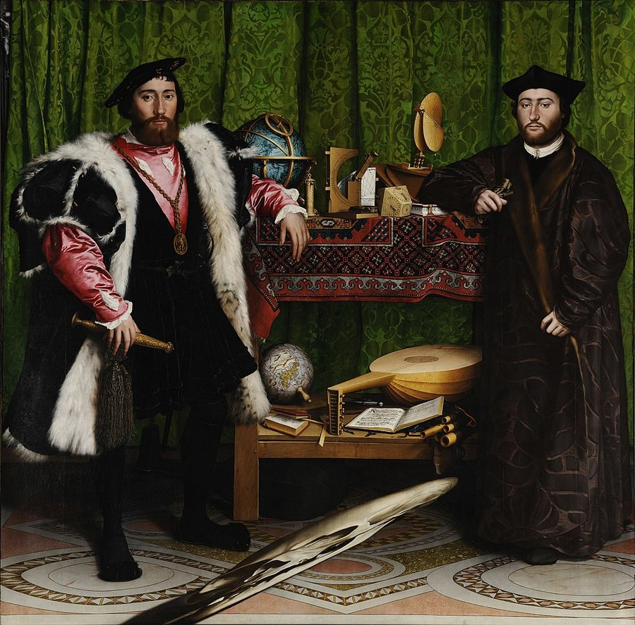 Hans Holbein the Younger, The Ambassadors (1533)