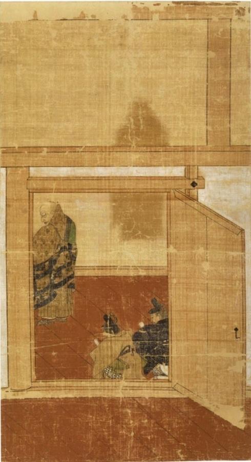 僧形八幡神影向図