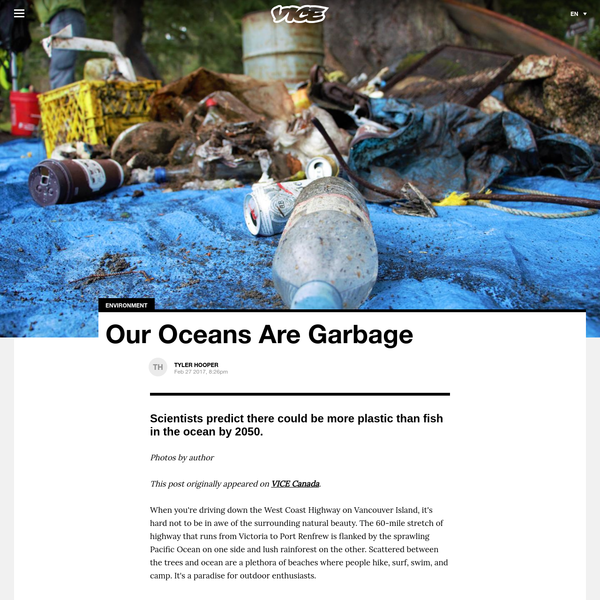 Our Oceans Are Garbage - VICE