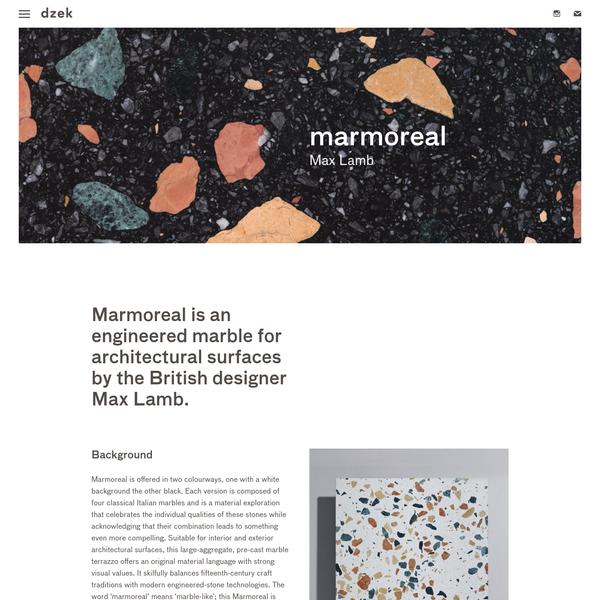marmoreal | dzek