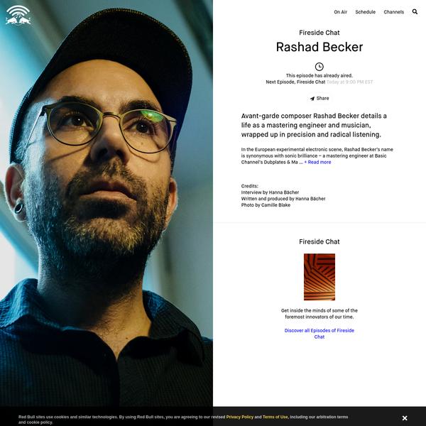 Fireside Chat Rashad Becker