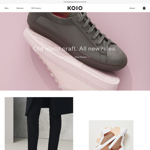 Koio Collective is a luxury leather goods brand. Our sneakers are handcrafted in Italy to combine modern design, finest materials, and century old techniques.