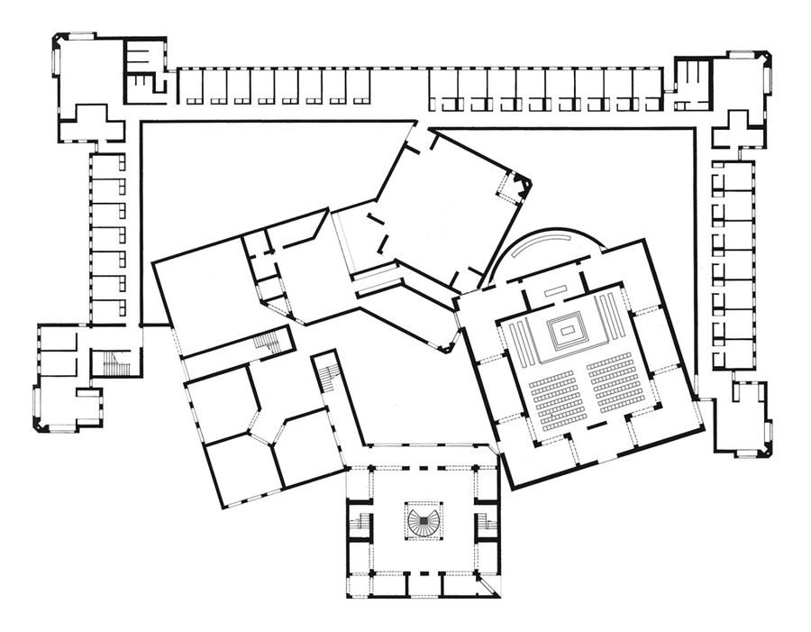 Louis Kahn - Dominican Motherhouse, 1968