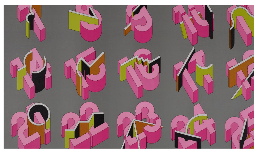Takenobu Igarashi Pushed the Parameters of Typography with His Hand-drawn 3D Letterforms