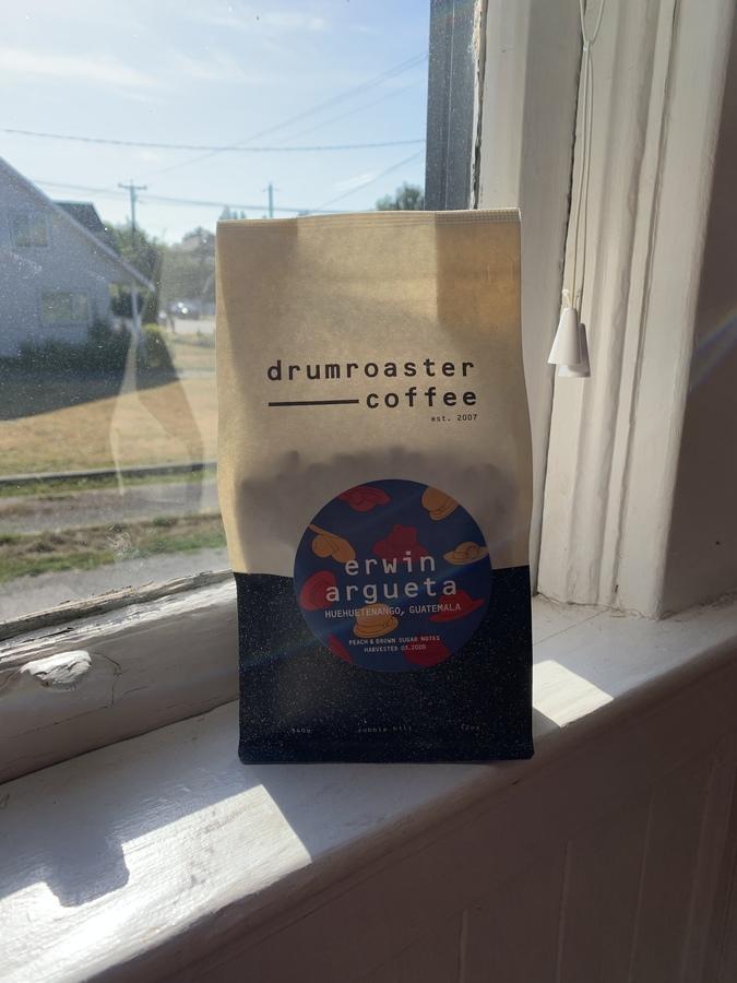 Drumroaster Coffee, Erwin Argueta (Guatemala), 2020