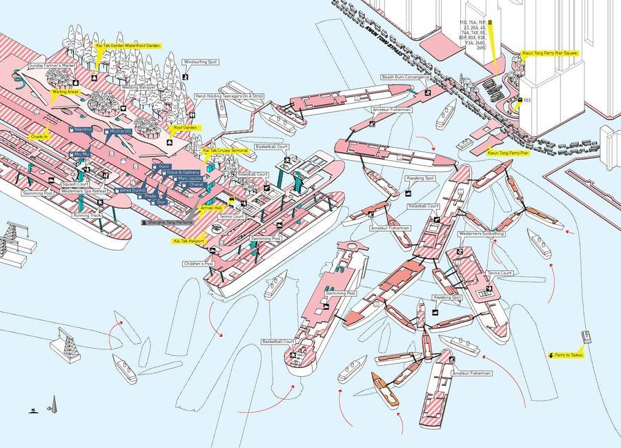 kai tak cruise terminal, hong kong - cities without ground