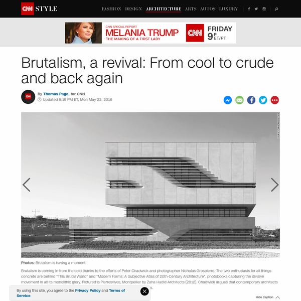 Brutalism: From cool to crude and back again