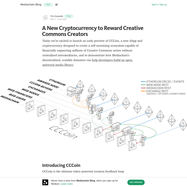A New Cryptocurrency to Reward Creative Commons Creators
