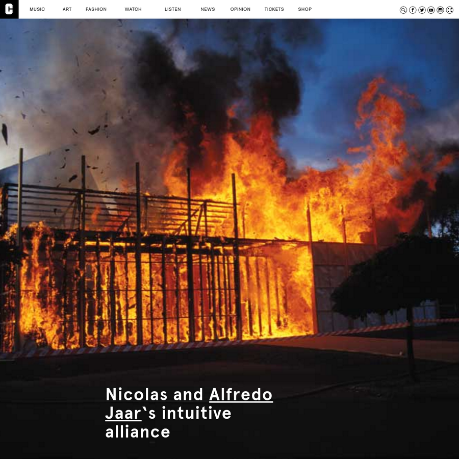 The organising principle behind Nicolas Jaar's work is to fight against logic, and the logics he fights against take various forms. On Sirens, there are two in particular; musical genre and nationalist narrative. It's the frictions between elements of both that create the fuel for Jaar's happysad musical alchemy.