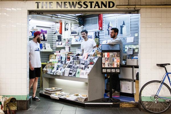 The Newsstand, Lorimer / Metropolitan St. G/L Station