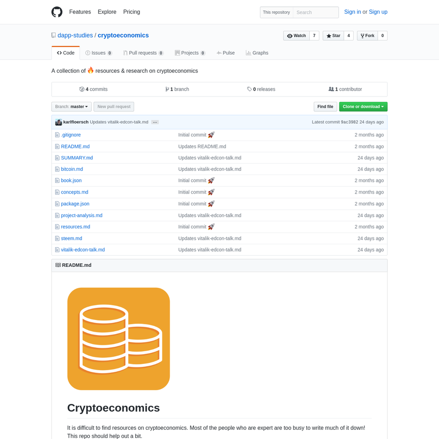 A collection of 🔥 resources & research on cryptoeconomics
