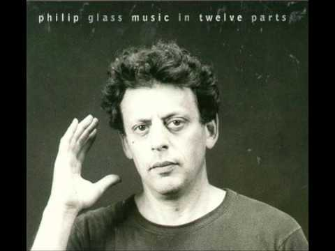 """full album: http://www.youtube.com/watch?v=j7fcHnR7UF0&list=PLTUlTwlsdlFTK1re1lmQCeG-W4nhOOEcJ Music in 12 Parts (1996 issue) Music by Philip Glass Performed by Philip Glass & The Philip Glass Ensemble Music director: Michael Riesman """"Music in 12 Parts would most likely be classified as a minimal work, it was a breakthrough for me and contains many of the structural and harmonic ideas that would be fleshed out in my later works."""