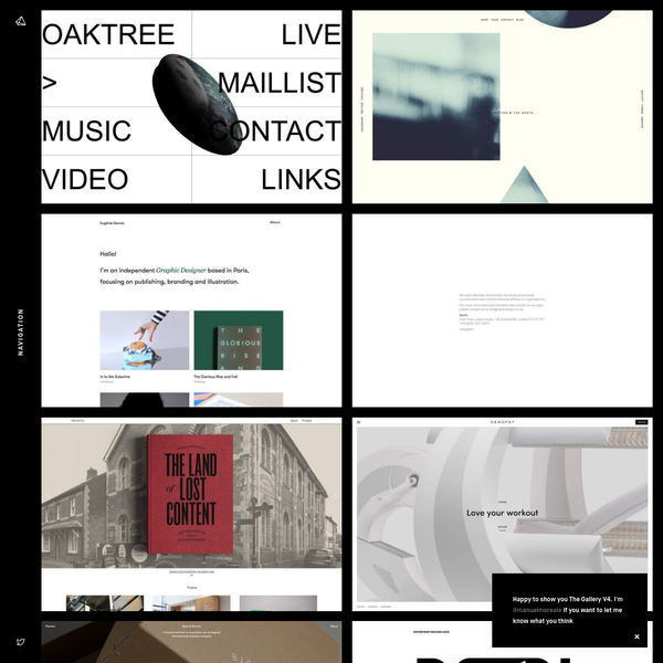 The Gallery - Minimal Inspirations