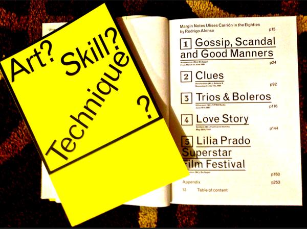 Art? Skill? Technique? Ulises Carrion's Communication Tactics: Five Reports