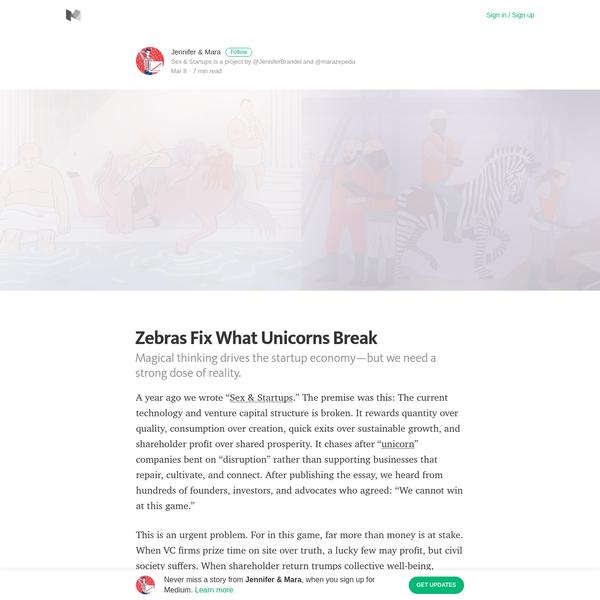 Zebras Fix What Unicorns Break