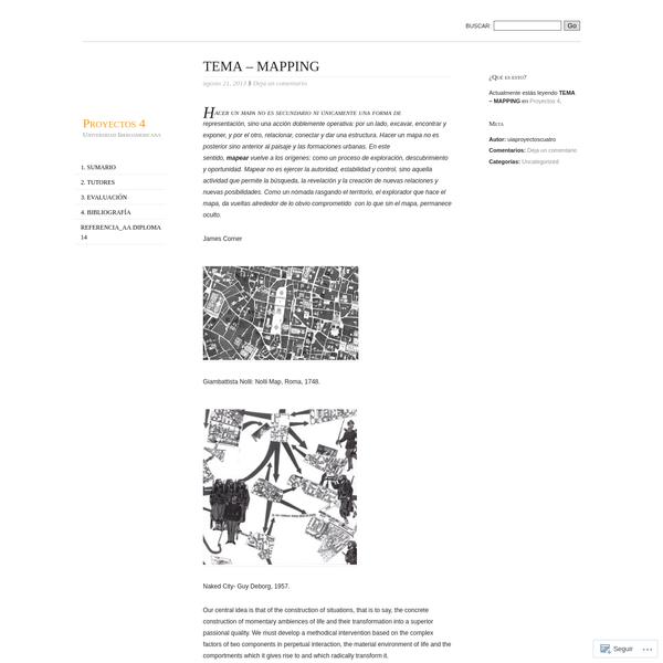 TEMA - MAPPING
