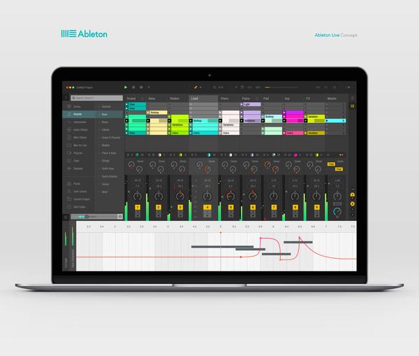 https://dribbble.com/shots/2255100-Ableton-Live-Redesign-Concept/attachments/422134