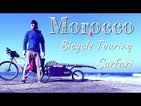 MOROCCO BICYCLE TOURING SURFARI EPISODE 01 is the latest adventure travel video from AgeHIGH. Combining my new found love for bicycle touring and life long o...