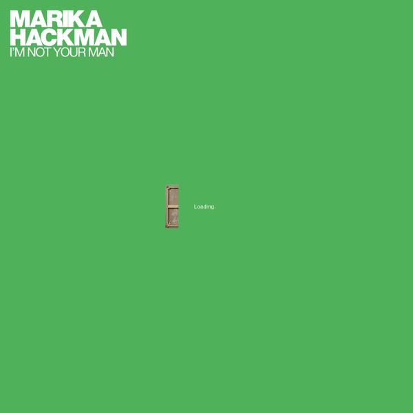Marika Hackman - I'm Not Your Man