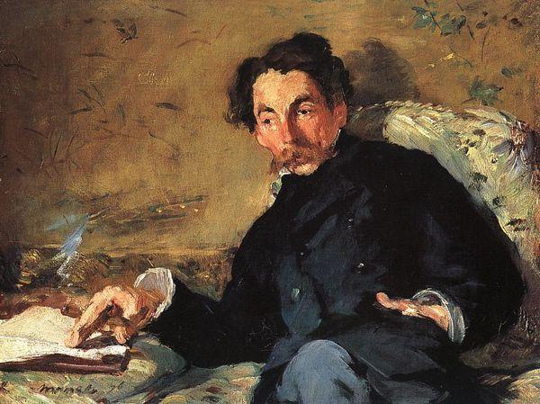 Portrait of Stéphane Mallarmé