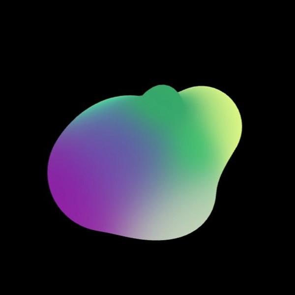 Colored metaball blob #openframeworks