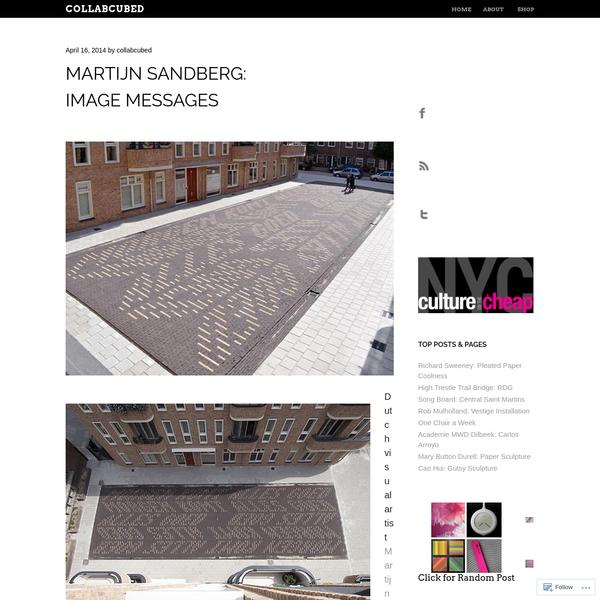 Martijn Sandberg: Image Messages