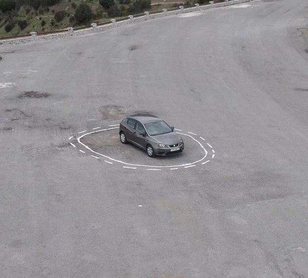 confusing an autonomously driving car