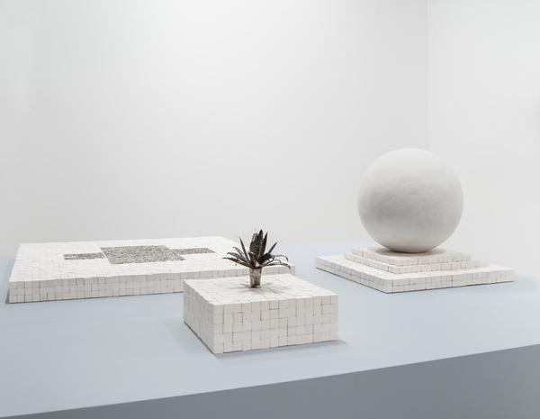 Jonathan Berger, Installation view, Independent, New York, 2017