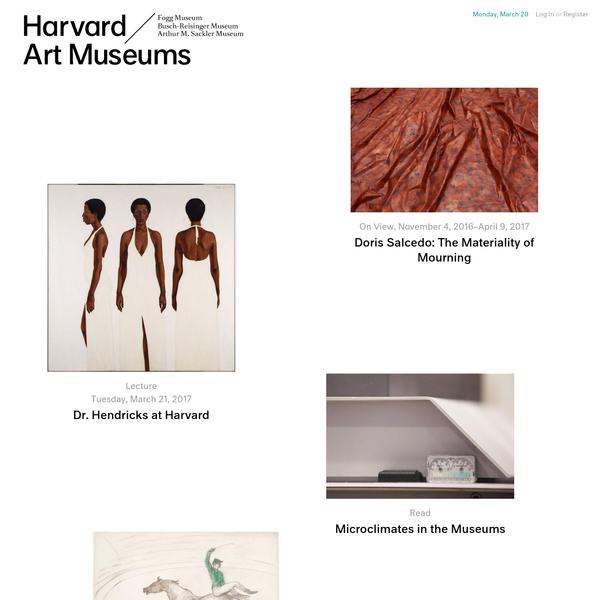 Homepage   Harvard Art Museums