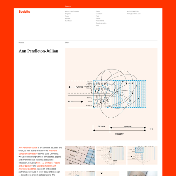 Soulellis.com is an online design journal founded in 2001, featuring ephemera, commentary and work by Paul Soulellis.
