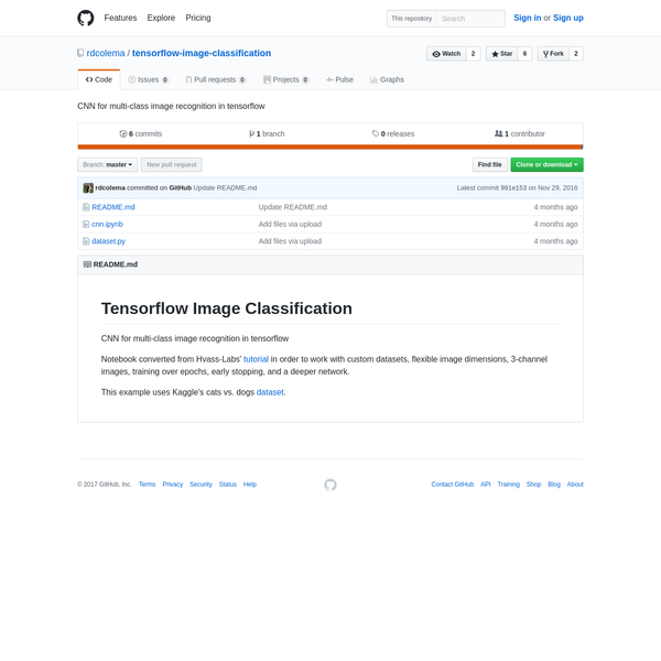 tensorflow-image-classification - CNN for multi-class image recognition in tensorflow