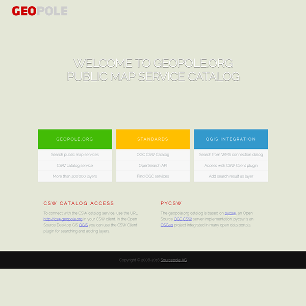 GIS tooling