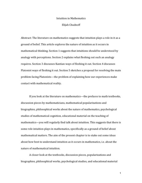 Chudnoff-Intuition-in-Mathematics.pdf