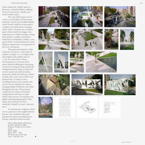 Labics - Fontana square