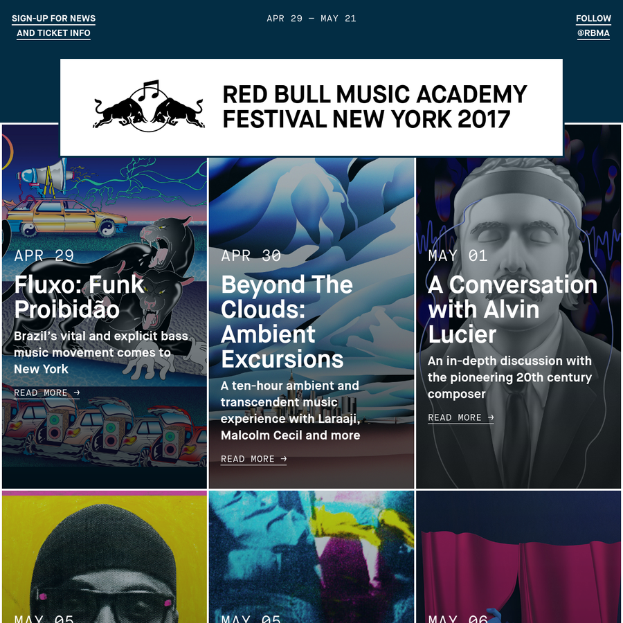 This year's #RBMANYC lineup features Solange, Gucci Mane & Zaytoven, Moodymann playing Prince and much more.
