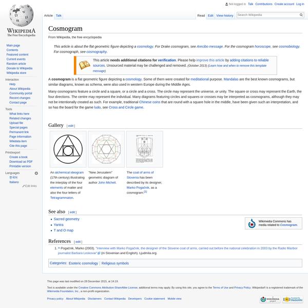 Cosmogram - Wikipedia