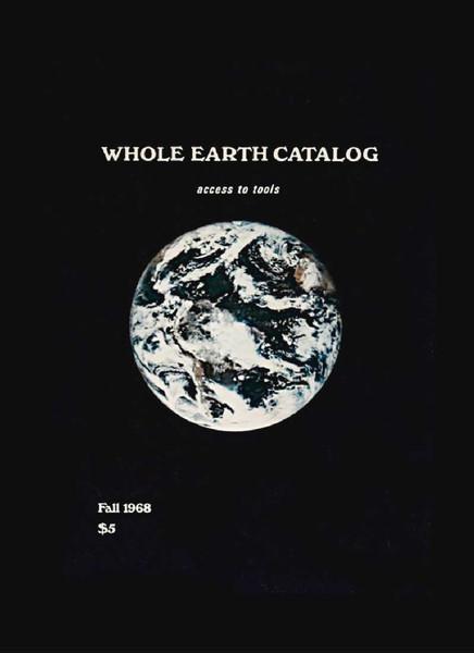 Stewart Brand, Whole Earth Catalog, Fall 1968