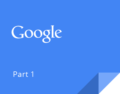 Google Visual Assets Guidelines - Part 1