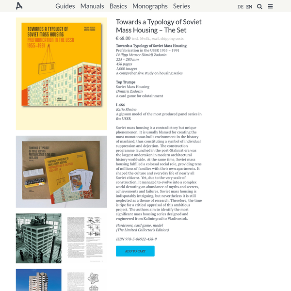 Towards a Typology of Soviet Mass Housing - The Set