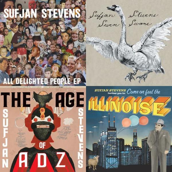 A playlist featuring Sufjan Stevens