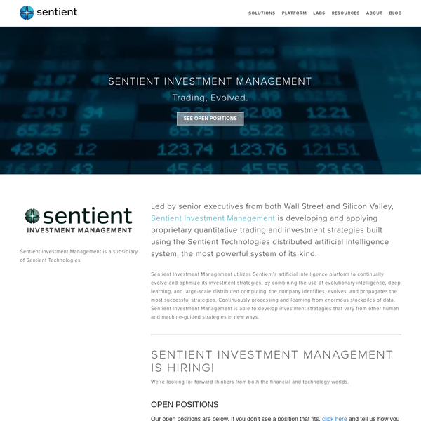 Sentient Investment Management