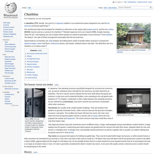 Chashitsu - Wikipedia