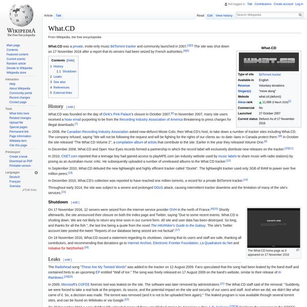What.CD - Wikipedia
